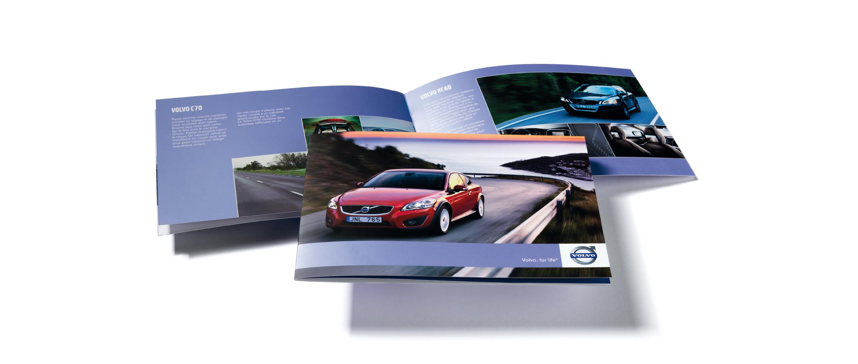 CMM CFAO Automobile Volvo Gamme Prestige plaquette