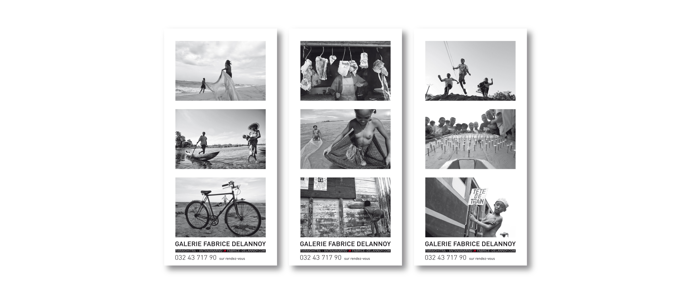 Photographe Gallerie Delannoy Flyers Tracts