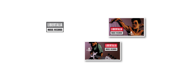 Madagascar Libertalia Musique Dizzy logo Cartes Visite